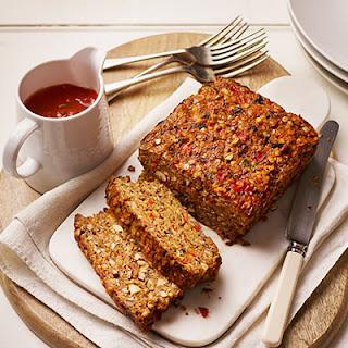 Vegetarian Lentil And Nut Loaf Recipes