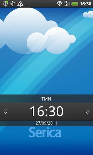 【免費個人化App】GO Launcher Ex Theme Serica-APP點子