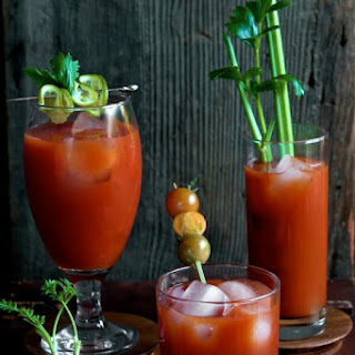 White Bloody Mary Drink Recipes