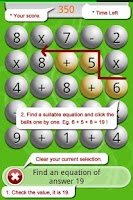 Screenshot of Math Scramble Lite