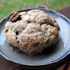 Oaty Cornmeal Scones with Sour Cherries (aka Old-Fashioned Scones)