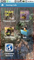 Screenshot of Hunting Calls