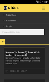 Niğde Haber - screenshot