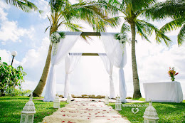 Radisson Blu Fiji wedding setup