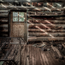 Kolob Cabin by Sean Camp - Buildings & Architecture Decaying & Abandoned ( cabin, old, building, outdoor photography, ghost town, national parks, log cabin, zion, rural, national park, utah, outdoor, outdoors, abandon, abandoned, decay,  )