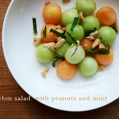 Spicy Melon Salad