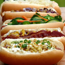Hot Dog Bar ~ Hot Dog 5 Ways