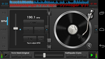 Screenshot of DJ Studio 5 - Free music mixer