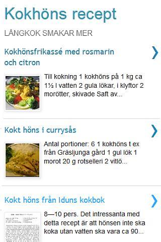 Kokhöns recept