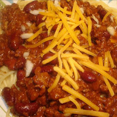 Simple Cincinnati Chili