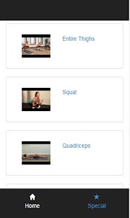 legs exercises - screenshot