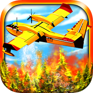 Airplane Firefighter Simulator Pilot Flying Games