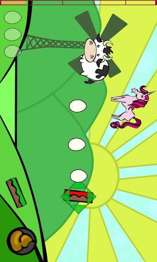 【免費街機App】奶牛撲通-APP點子