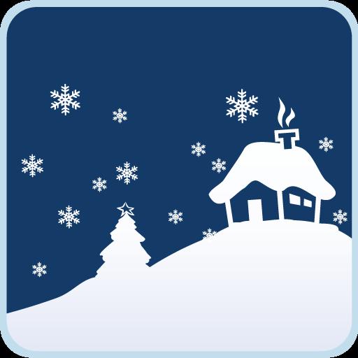 瓦力短信冬雪飘零主题 個人化 App LOGO-APP試玩