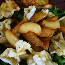 Caramelised Pear, Camembert and Rocket Salad