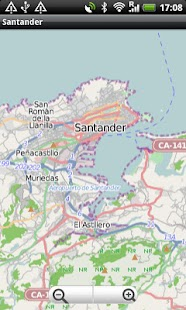 Santander Street Map - screenshot