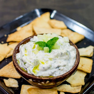 Greek Yogurt Dip (Tzatziki dip)