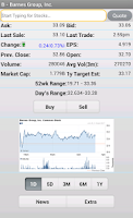 Screenshot of Stock Market Simulator