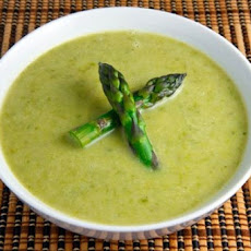 Turkey Leftover Creamy Potato and Asparagus Soup