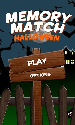 Memory Match Halloween Free