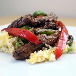 Beef In Black Bean Sauce