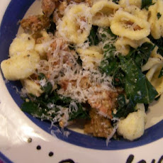 Orecchiette With Sausage and Greens