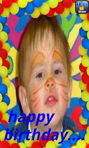 Birthday eFrames