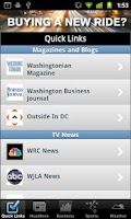 Screenshot of Washington D.C. Local News