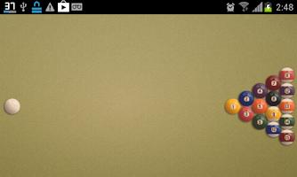 Screenshot of Jogos de Sinuca