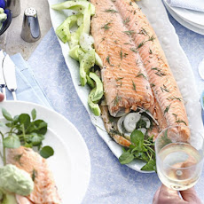 Foil-baked Salmon served with English Parsley Sauce Recipe | Yummly