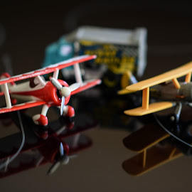 At the Airport  by Dory Formiller - Artistic Objects Toys