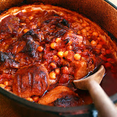 Pork Belly And Chorizo Stew