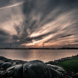 House of port, Gothenburg by Peter Björklund - Landscapes Cloud Formations (  )