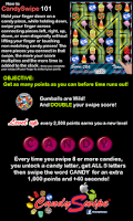 Screenshot of CandySwipe® 2.0