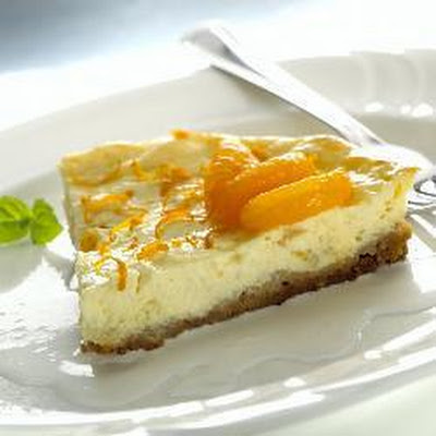 Orange Goats' Cheese Cheesecake