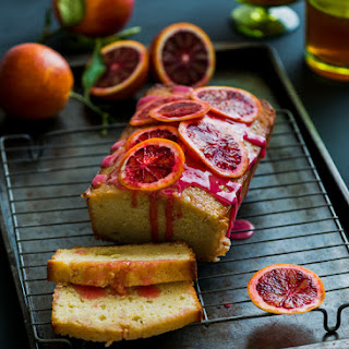 Blood Orange Buttermilk Pound Cake
