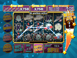 Screenshot of Free Slots: Astro Invaders