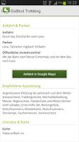 Screenshot of South Tyrol/Südtirol Trekking