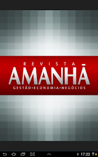 Revista Amanhã - screenshot