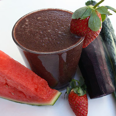 Purple Watermelon Smoothie