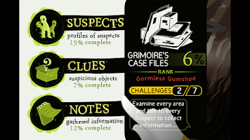 Screenshot of Detective Grimoire