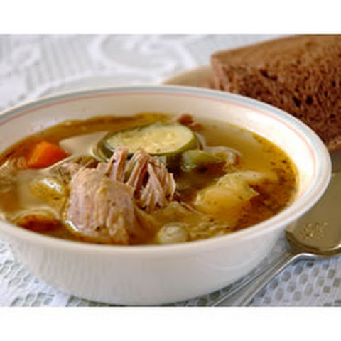 White Wine Chicken Soup