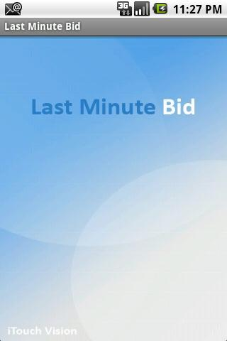 Last Minute Bid Pro