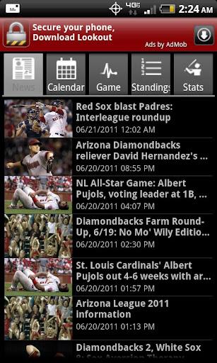 Arizona Baseball Free