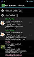 Screenshot of Quick System Info PRO