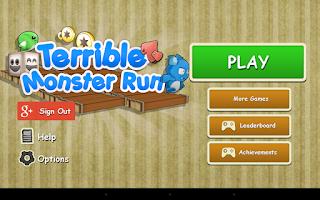 Screenshot of Terrible Monster Run