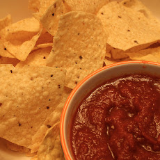 Salsa and Cream Cheese Dip