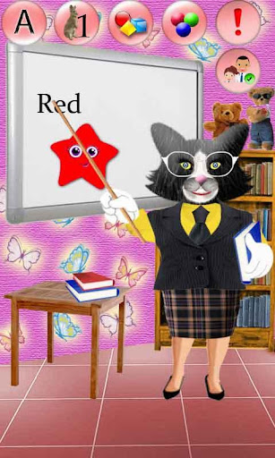 會說話的貓女士|玩教育App免費|玩APPs