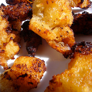 Peppery Torn Croutons