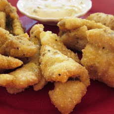 Spicy Catfish Tenders With Cajun Tartar Sauce